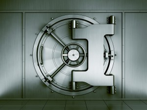 bigstock--d-rendering-of-a-bank-vault-s-17086331